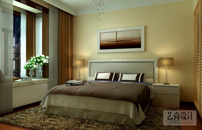 正商城107平米三室一厅卧室betvlctor伟德中文版效果图