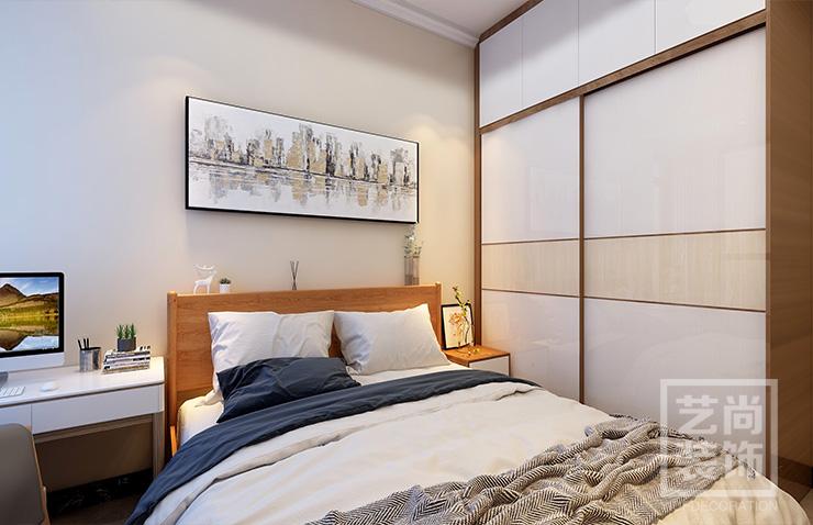 郑州公园道116平方四室两厅北欧风格样板间betvlctor伟德中文版案例效果图