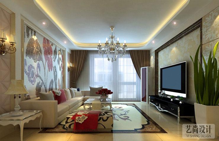 业主要求:本案升龙天汇116平方三室两厅装修方案是业主为他孩子准备的婚房,要求简单些,但造型要有前卫感。 设计理念:艺尚装饰设计师闫秀娟老师根据客户沟通,每一个空间需求来合理分配空间分配,线条造型流畅,色彩高尚优雅。整体色调是暖色为主,通过色彩靓丽优雅的家具和装饰画,来凸显设计风格的高雅、独特和意蕴硬包,同时吊顶的个性造型也在一定程度上与整体设计遥相呼应!