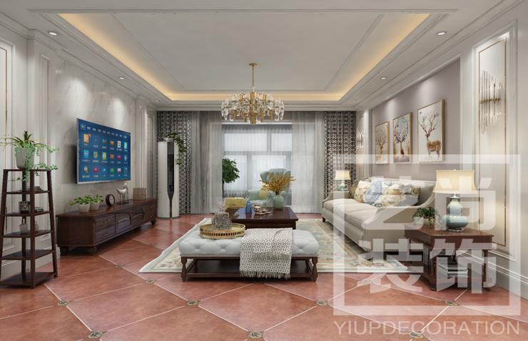 民航国际馨苑130平方三室两厅一卫betvlctor伟德中文版效果图