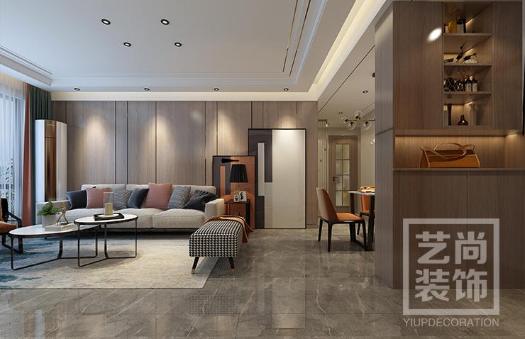碧源月湖121平方三室两厅两卫betvlctor伟德中文版效果图