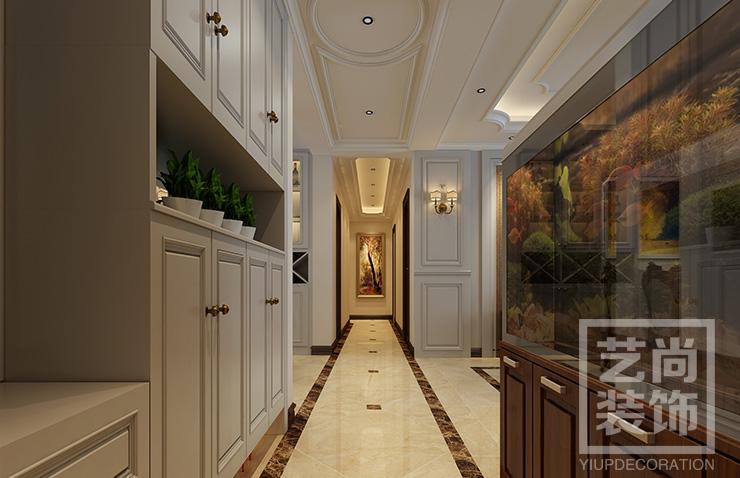 郑州永威西郡142平四室两厅简欧风格样板间betvlctor伟德中文版案例效果图